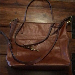 Fossil Evelyn Tote Handbag
